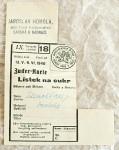 staré lístky na cukr
