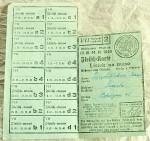 staré lístky na maso