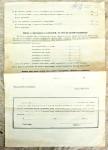Přiznání k paušalované dani z obratu u zemědělců 1928