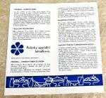 Propagační materiály Mlékárenského průmyslu