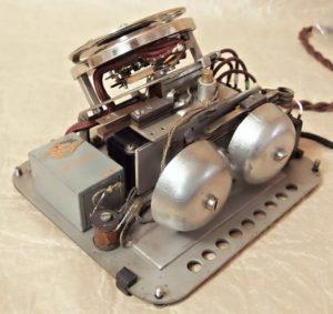 bakelitovy telefon Mikrofona kondenzator