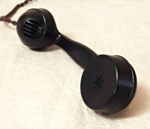 telefon Telegrafia sluchatko detail