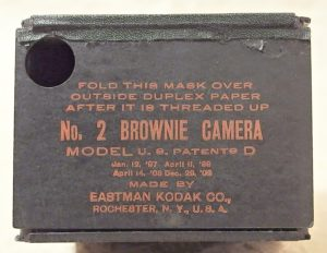 fotoaparat Kodak Brownie No.2 model D