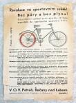 prospekty staré motocykly
