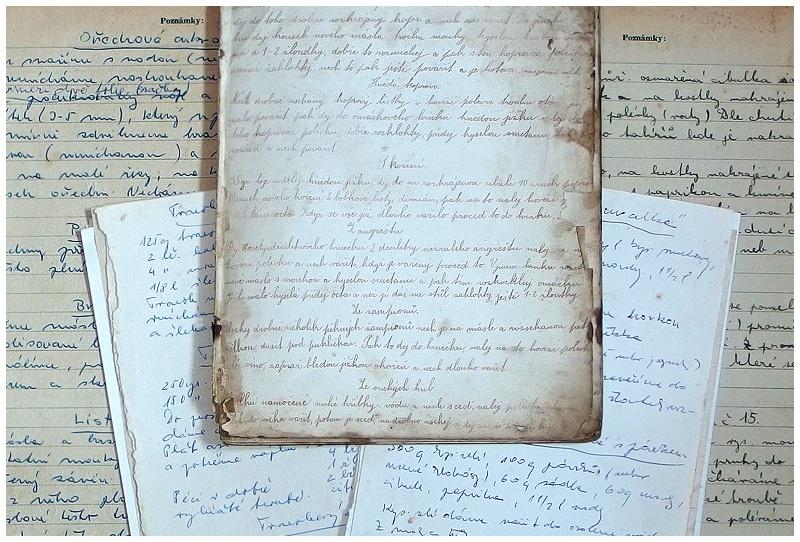 recepty z doby první republiky