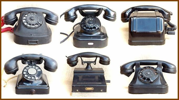 stare telefonni pristroje