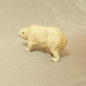 starozitna hracka ledni medved figurka