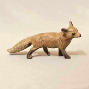 starozitna hracka liska figurka