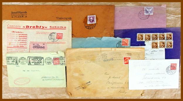 prodám staré známky a celistvosti