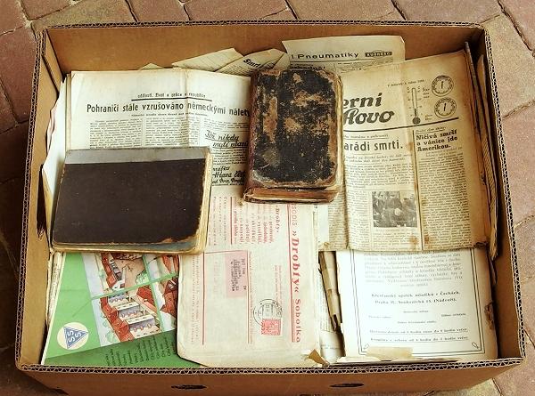 antikvariát staré knihy