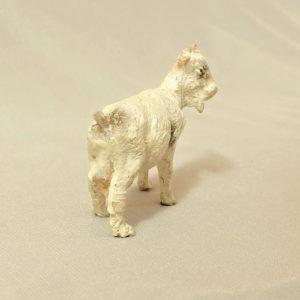starozitna hracka koza figurka