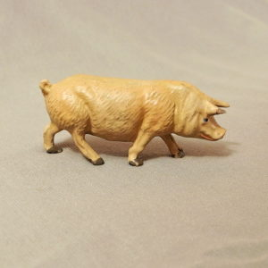 starozitna hracka prase figurka