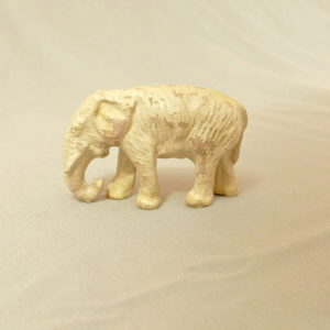 starozitna hracka slon figurka