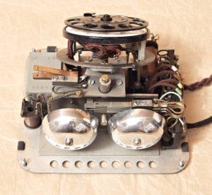 bakelitovy telefon Mikrofona renovace zvonku