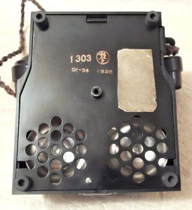 starozitny telefon Prchal Kolin z roku 1935