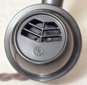 bakelitovy telefon Mikrofona logo na sluchatku