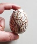 návod velikonoční vajíčka