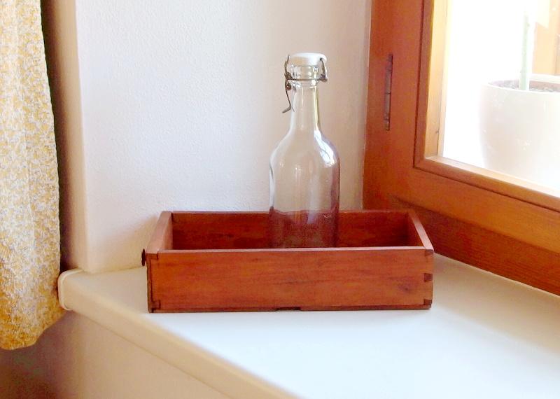 renovace starych lahvi