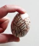 velikonoční vajíčka koláž